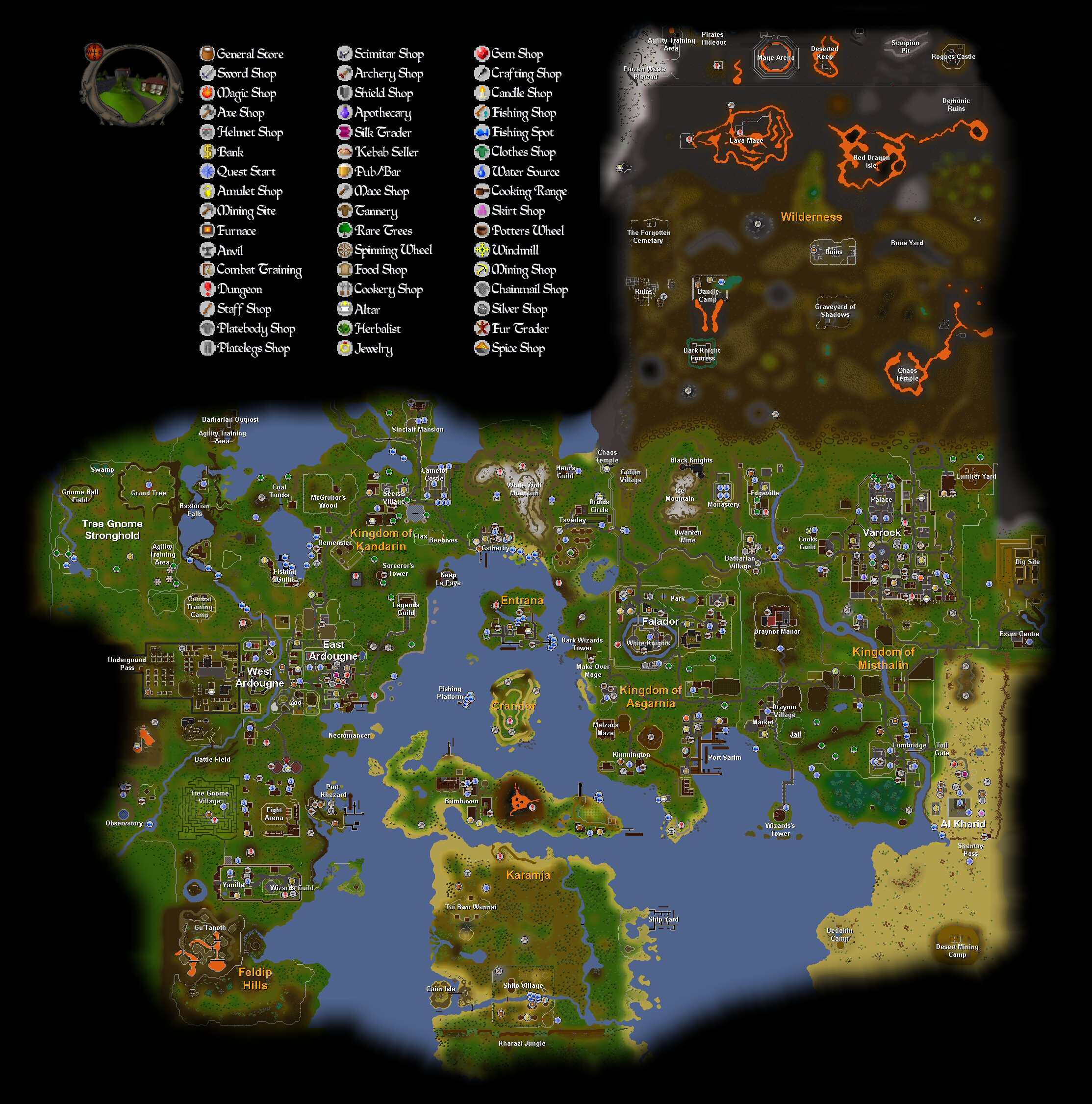 RS2 World Map